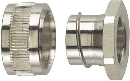 Endverschluss Metall M20 13 mm Gerade HellermannTyton 166-31202 PCS16-PC 1 St.