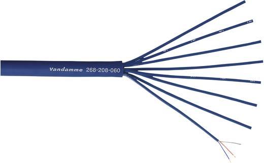 Mikrofonkabel Blau VanDamme 268-208-060 Meterware