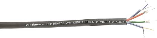 Multicorekabel Schwarz VanDamme 268-350-202 Meterware