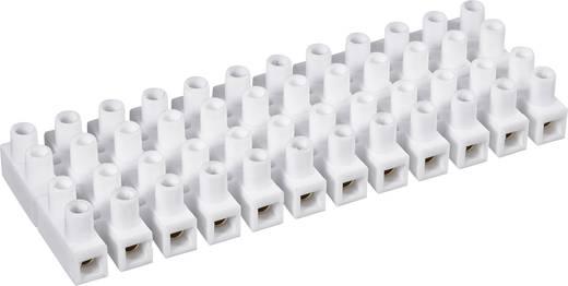 Lüsterklemme flexibel: 1.5-2.5 mm² starr: 1.5-2.5 mm² Polzahl: 12 610836 1 St. Weiß