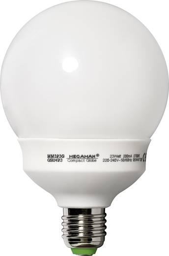 Energiesparlampe 149 mm Megaman 230 V E27 23 W = 98 W Warm-Weiß EEK: A Globeform Inhalt 1 St.