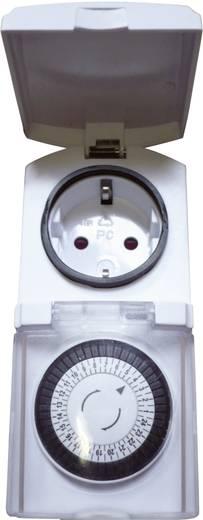 Steckdosen-Zeitschaltuhr analog Tagesprogramm GAO EMT449/9339C6 3680 W IP44