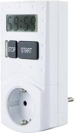 Spínací zásuvka s časovačem GAO, EMT 799-60M, 3680 W, IP20, digitální, denní