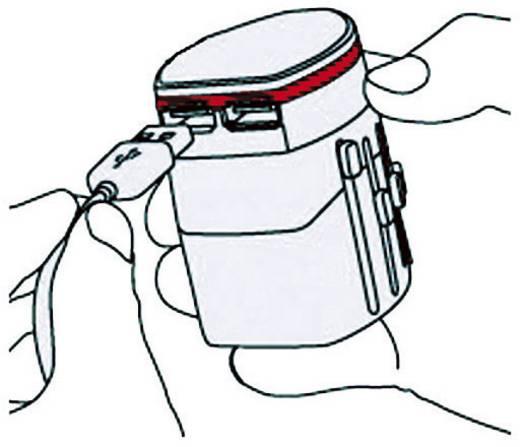 Reiseadapter World Adapter EVO USB Skross 1.302101