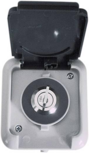 Steckdosenschloss gleichschließend Grau 610708