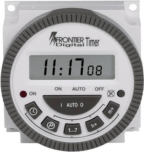 Fronttafeleinbau-Zeitschaltuhr digital TM-619 230 V/AC 16 A/250 V