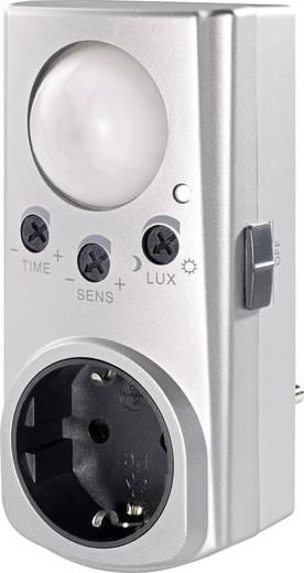 GAO EMP600PIR Zwischenstecker PIR-Bewegungsmelder 120 ° Relais Silber IP20