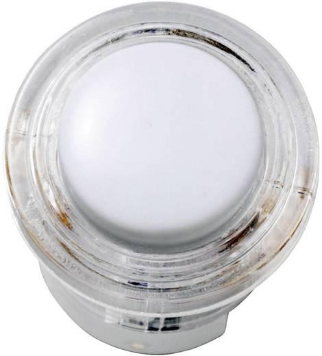 Klingeltaster Acryl-Weiß