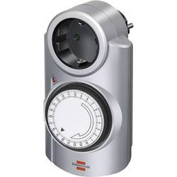 Spínací zásuvka s časovačem Brennenstuhl, 1506530, 3680 W, IP20, analogová, denní