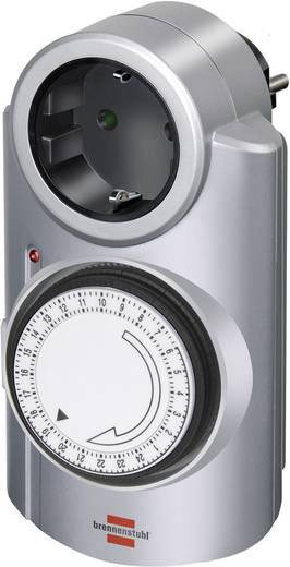 Steckdosen-Zeitschaltuhr analog Tagesprogramm Brennenstuhl 1506530 3680 W IP20