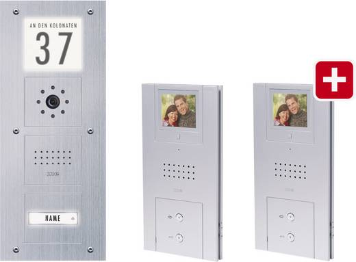 m-e modern-electronics VD 4311-EG Video-Türsprechanlage