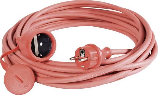 Strom Verlängerungskabel [ Schutzkontakt-Gummi-Stecker - Schutzkontakt-Gummi-Kupplung] 16 A Rot 25 m 346.325.04