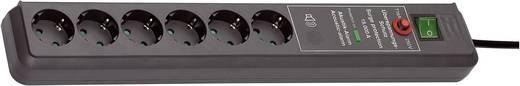 Brennenstuhl 1159540376 Überspannungsschutz-Steckdosenleiste 6fach Anthrazit Schutzkontakt