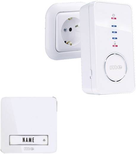 Funkklingel Komplett-Set m-e modern-electronics 41098