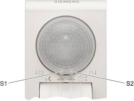 Siemens 5TC7212 Aufputz PIR-Bewegungsmelder 290 ° Relais Weiß IP55