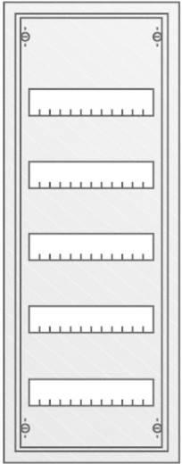 Verteilerschrank Aufputz Anzahl Teilungen = 60 Anzahl Reihen = 5 Striebel & John 30124 AT51