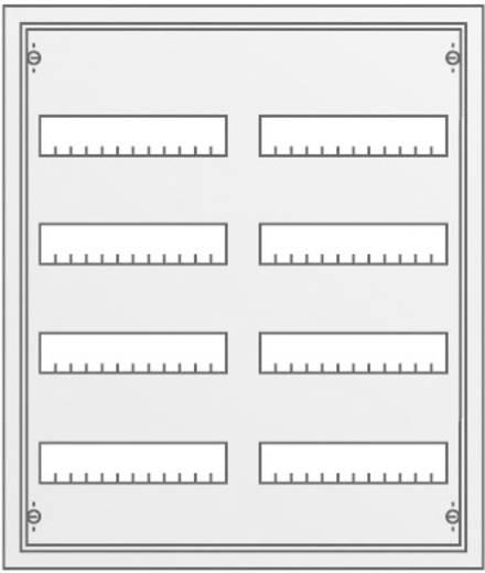 Verteilerschrank Unterputz Anzahl Teilungen = 96 Anzahl Reihen = 4 Striebel & John 30102 U42