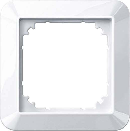 Merten 1fach Rahmen 1-M, System M Polarweiß glänzend 389119