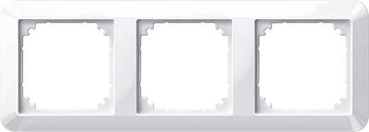 Merten 3fach Rahmen 1-M, System M Polarweiß glänzend 389319