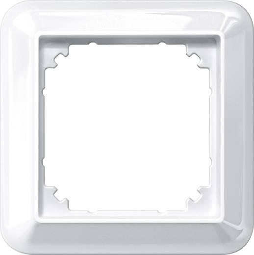 Merten 1fach Rahmen Atelier-M Polarweiß glänzend 388119
