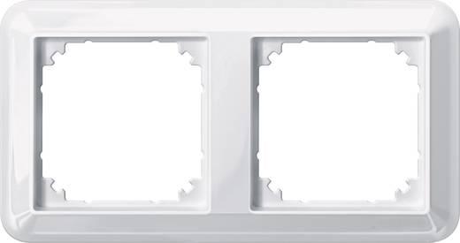 Merten 2fach Rahmen Atelier-M Polarweiß glänzend 388219