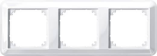 merten 3fach rahmen atelier m polarwei gl nzend 388319. Black Bedroom Furniture Sets. Home Design Ideas