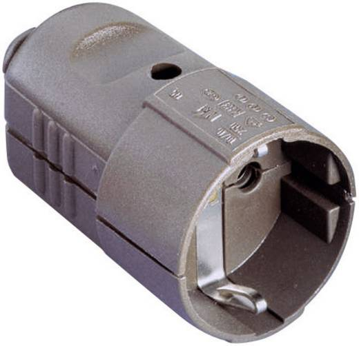 Schutzkontaktkupplung Kunststoff 230 V Braun IP20