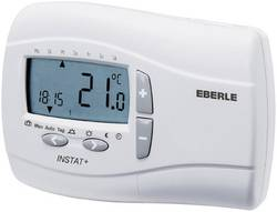 Pokojový termostat Eberle Instat Plus 3R, 7 až 32 °C, bílá