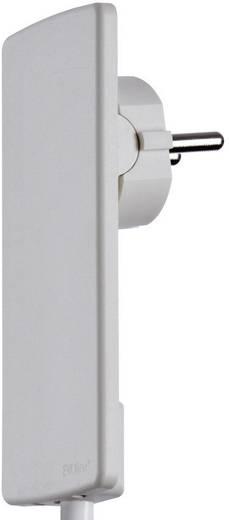 schutzkontakt flachstecker kunststoff mit aussteckhilfe 230 v wei ip20 schulte elektrotechnik. Black Bedroom Furniture Sets. Home Design Ideas