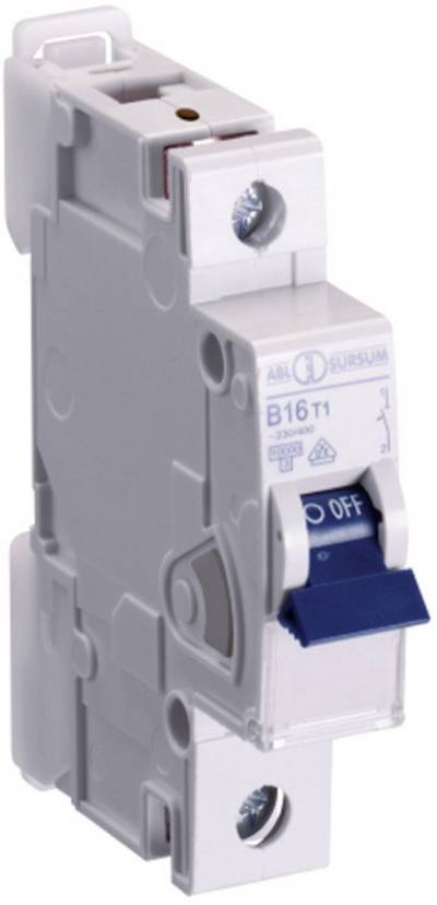 Interruttore magnetotermico ABL Sursum K16T1 1 polo 16 A 1 pz.