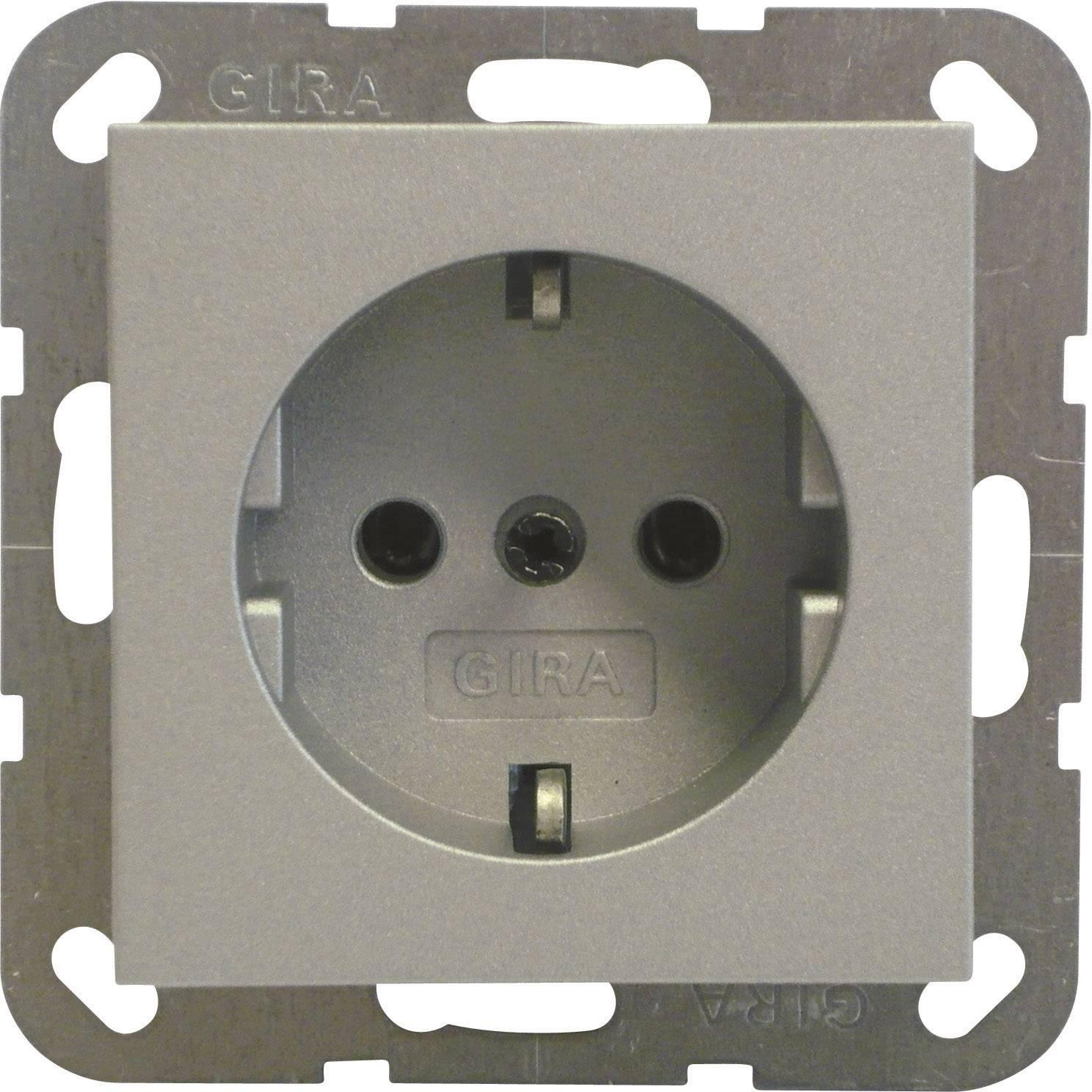 GIRA Einsatz Schutzkontakt-Steckdose System 55, Standard 55, E2, Event,  Event Klar, Event Opak, Esprit, ClassiX Alumini