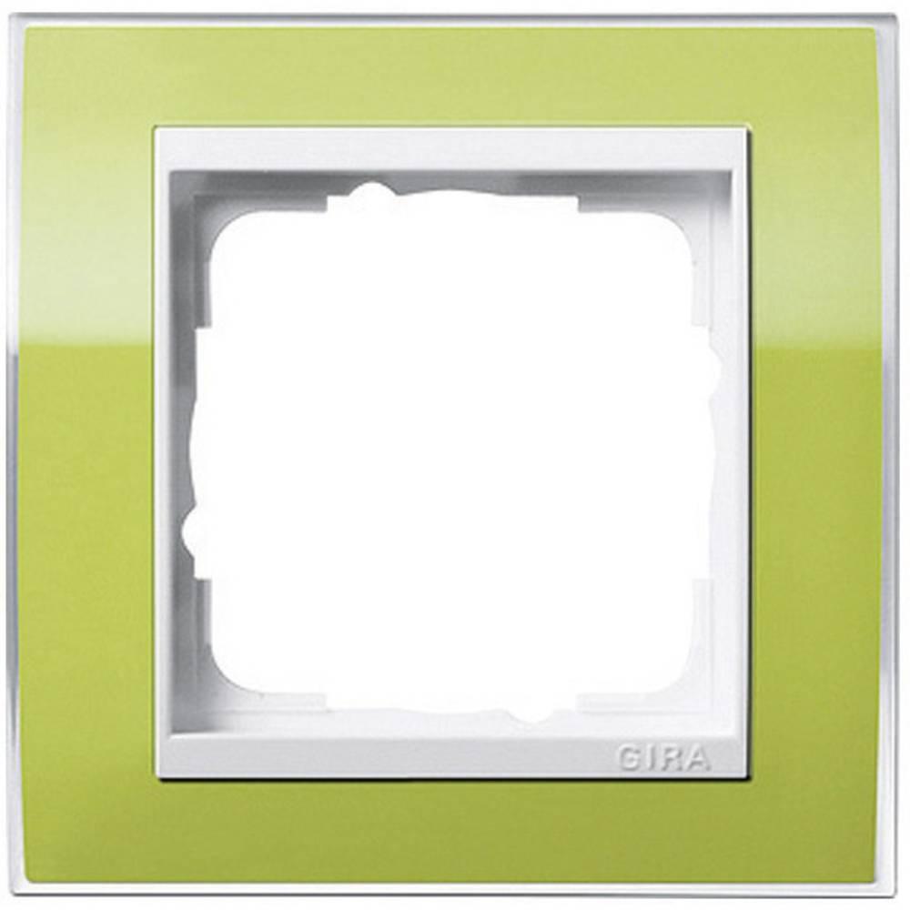 gira 1fach rahmen event klar standard 55 system 55 gr n 0211 743 im conrad online shop 611901. Black Bedroom Furniture Sets. Home Design Ideas