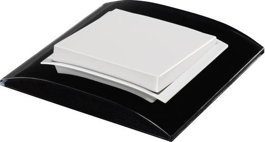 gira 1fach rahmen event klar standard 55 schwarz 0211 733 kaufen. Black Bedroom Furniture Sets. Home Design Ideas