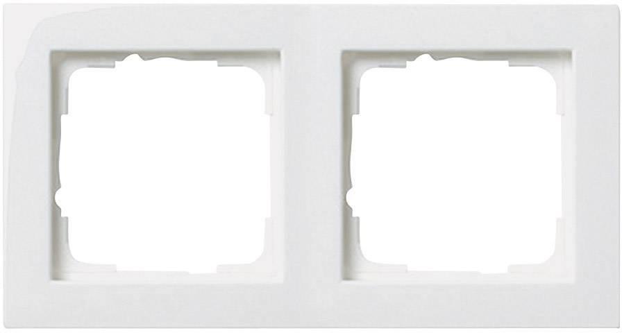 GIRA 021304 Rahmen 3 fach reinweiß matt Standard 55