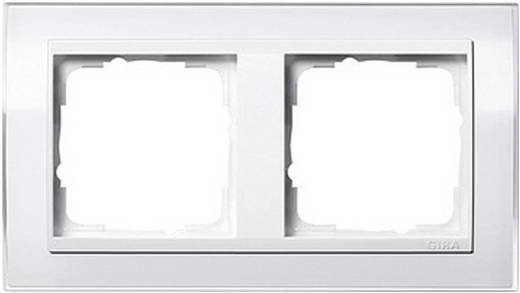gira 2fach rahmen event klar standard 55 system 55 wei gl nzend 0212 723. Black Bedroom Furniture Sets. Home Design Ideas
