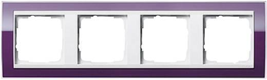 gira 4fach rahmen event klar standard 55 system 55 aubergine 0214 753 kaufen. Black Bedroom Furniture Sets. Home Design Ideas