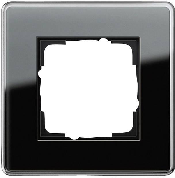 Einzigartig GIRA 1fach Rahmen Esprit, Standard 55, System 55 Schwarz 0211 505  LF95