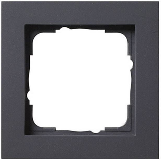 Einzigartig GIRA 1fach Rahmen E2, Standard 55, System 55 Anthrazit 0211 23  LF95