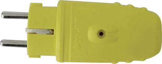 Schutzkontaktstecker Gummi 230 V Gelb GAO