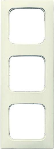 busch jaeger 3fach rahmen duro 2000 si linear creme wei 2513 212k 101 kaufen. Black Bedroom Furniture Sets. Home Design Ideas