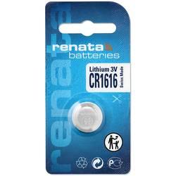 Knoflíková baterie Renata CR 1616, lithium, 700287