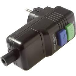 Bezpečnostní zásuvka AS Schwabe, 45209, IP44, 30 mA, černá