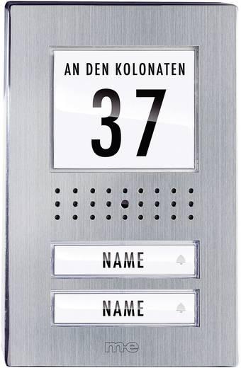 Video-Türsprechanlage Kabelgebunden Außeneinheit m-e modern-electronics VDV 520.1 EG 2 Familienhaus Edelstahl