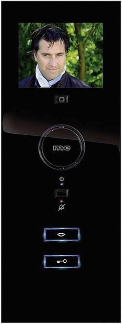 Station intérieure d'Interphone vidéo filaire 1 foyer m-e modern-electronics VDV-503 noir