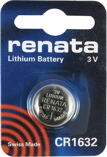 Passende Batterie, Typ CR 1632, bitte 4x bestellen