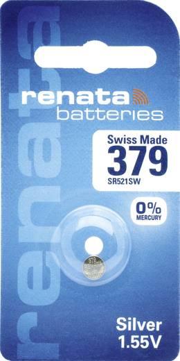 Knopfzelle 379 Silberoxid Renata SR63 16 mAh 1.55 V 1 St.