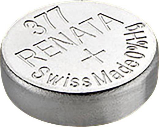 Knopfzelle 377 Silberoxid Renata SR66 24 mAh 1.55 V 1 St.