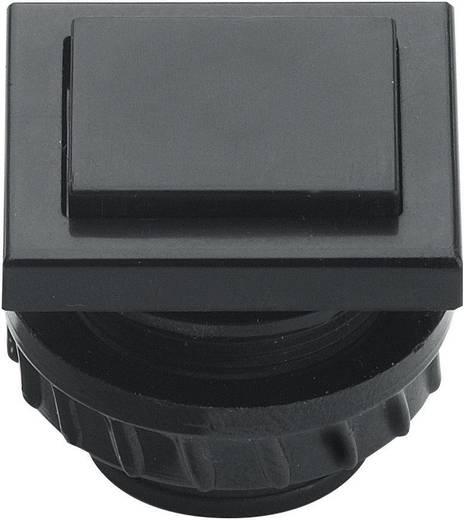 Klingeltaster 1fach Grothe 61045 Schwarz 24 V/1,5 A