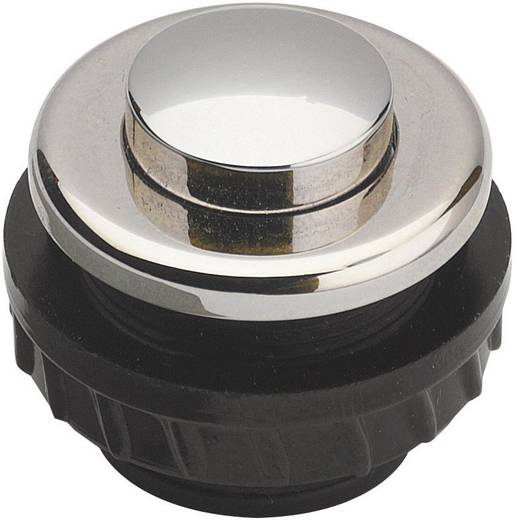 Grothe 62026 Klingeltaster 1fach Nickel 24 V/1,5 A