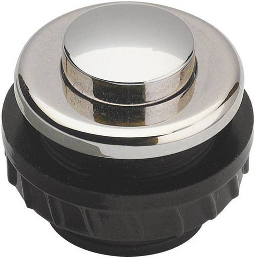 Klingeltaster 1fach Grothe 62026 Nickel 24 V/1,5 A